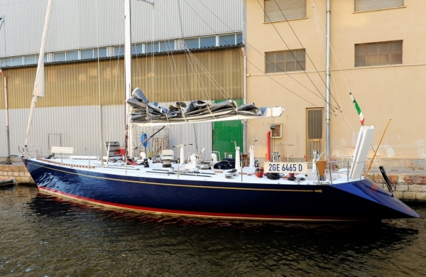 1983 Newport Offshore Shipyard Frers 59 Alloy Custom
