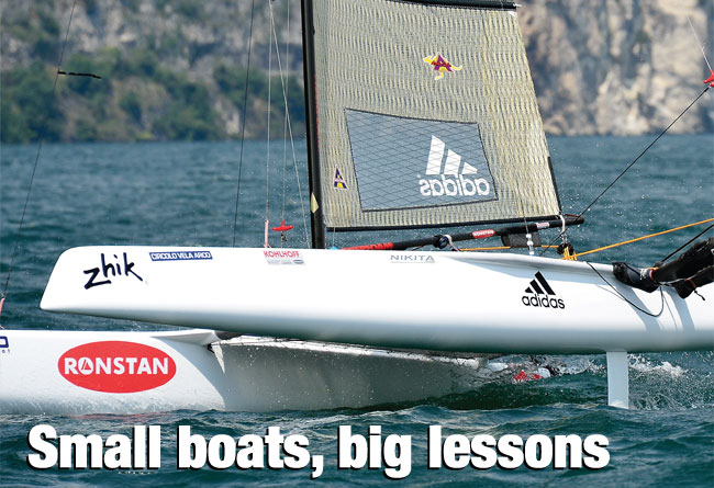 Small boats, big lessons