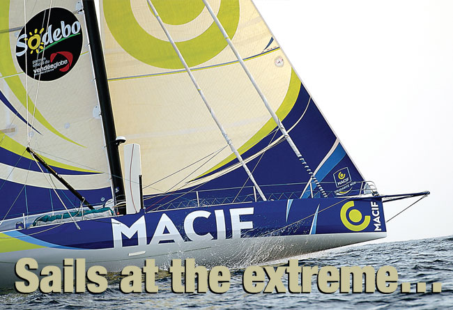 Sails at the extreme…