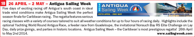 Click for more info on Antigua Sailing Week