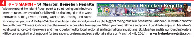 Click for more info on St Maarten Heineken Regatta