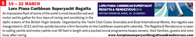 Click for more info on Loro Piana Caribbean Superyacht Regatta