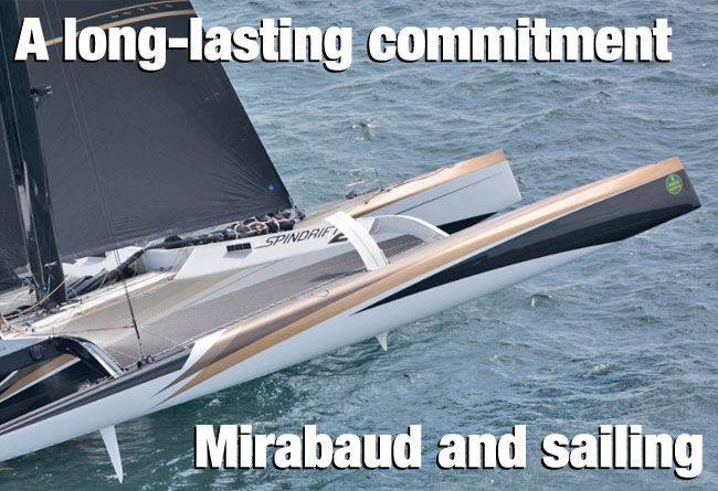 Mirabaud and sailing
