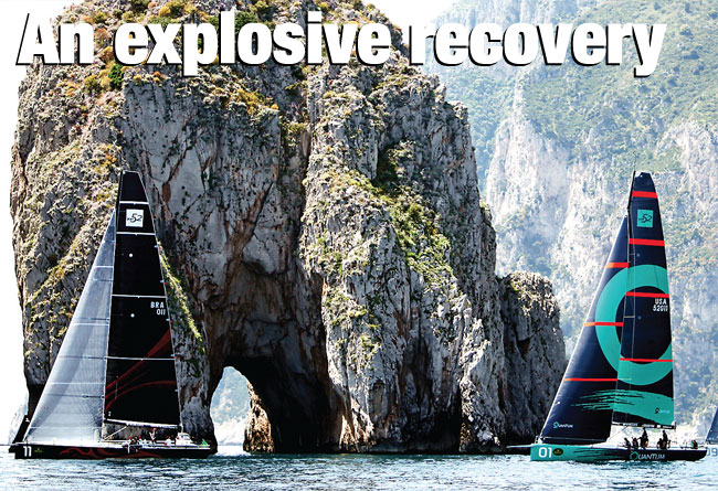 An explosive recovery