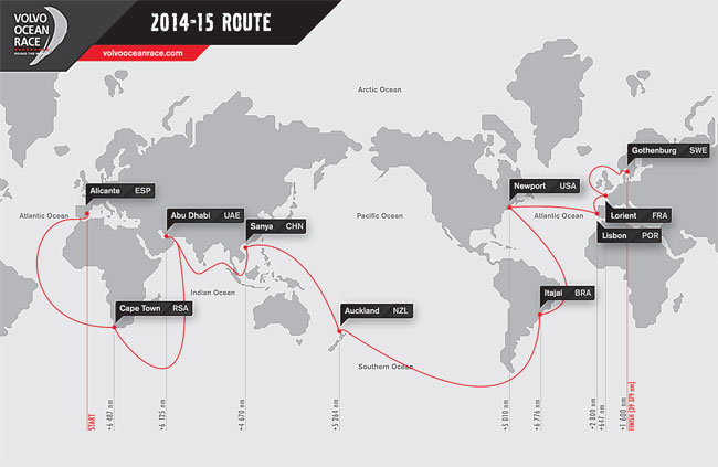 2014-2015 Route