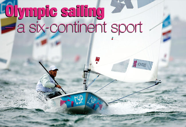 Olympic sailing – a six-continent sport