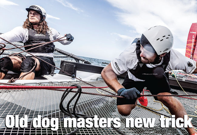 Old dog masters new trick